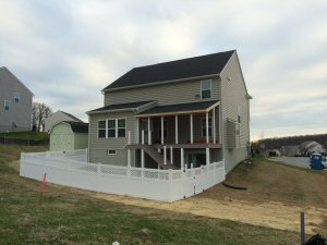 PVC privacy fence by Security Fence Company, Red Lion, PA