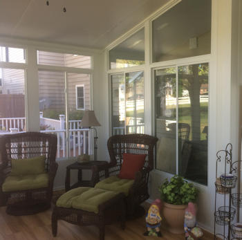 Custom sunroom job for O'Connor by Security Fence, York, PA