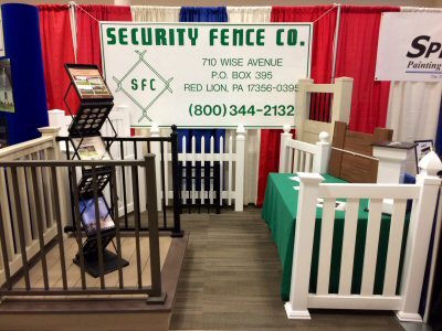 Visit the Security Fence team at a trade show near you in south central Pennsylvania
