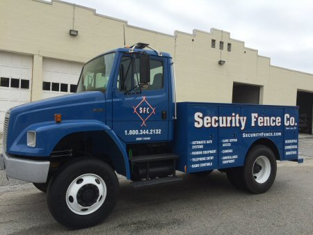 Security Fence Company, Red Lion, PA - Access Control Service Vehicle