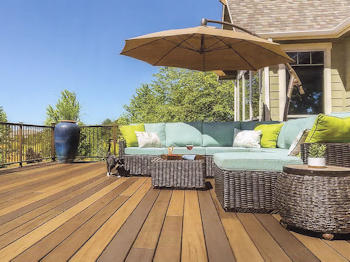 Decide on deck placement before final decking plan, advises Security Fence Company - decking contractor