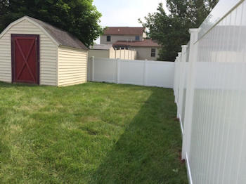 PVC fencing from Security Fence Company - Red Lion, PA - stands out from the rest